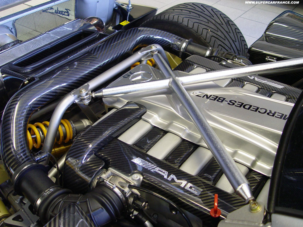 never knew amg made the pagani zonda s engine - mbworld forums