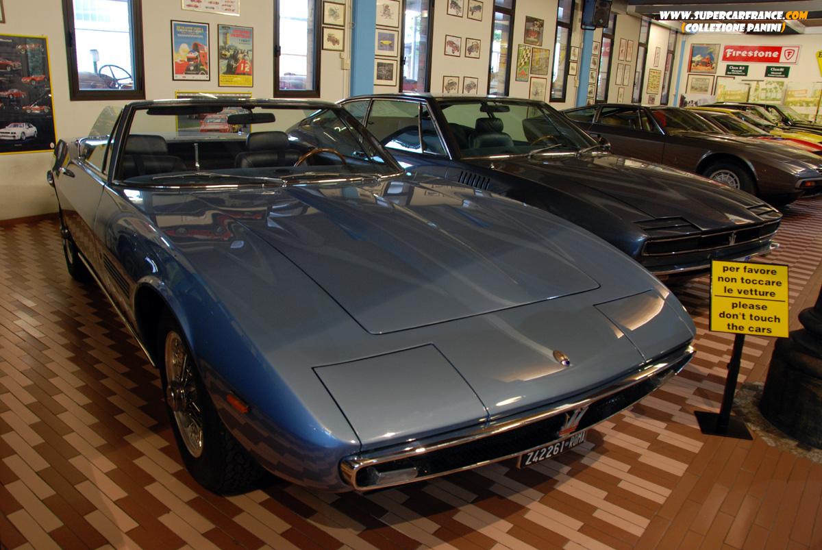 Supercars Collezione Panini Maserati Simun Chubasco Merak Ghibli
